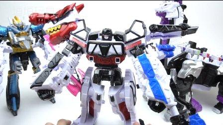 恐龙变形金刚 组合机器人 炫酷玩具 男孩玩具 新款恐龙战士 益智玩具 一起玩 变形金刚玩法说明  § 垣垣玩具 §