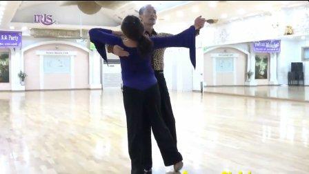 摩登舞教学 韩国标准舞教学演示