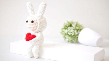 【A305】编织手工馆_安东尼的不二兔子钩针玩偶教程