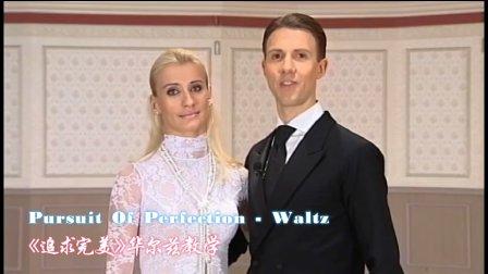 摩登舞《追求完美》华尔兹教学-阿鲁纳斯&卡秋莎