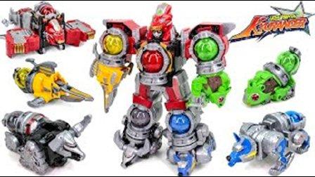 最新款 恐龙战队兽连者 炫酷机器人 组合变形金刚  益智玩具 超凡战队 男孩玩具日本人气玩具 § 垣垣玩具 §