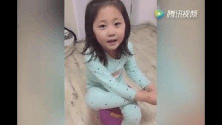 这小女孩太有趣了, 和她爸爸的回答