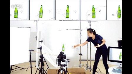 《啊摄影》啤酒动态广告图片拍摄/静物产品摄影视频教程分享