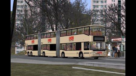 『干部来袭』巴士模拟2: 双层双铰链巴士 - 尼奥普兰Jumbocruiser G - OMSI 2