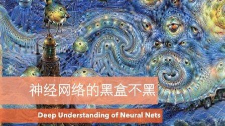 科普: 神经网络的黑盒不黑 (深度理解神经网络)