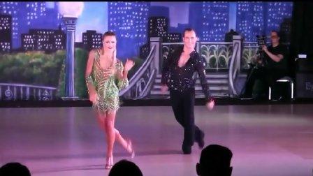 2017.5.6 职业冠军尤里娅美华盛顿公开赛拉丁舞表演