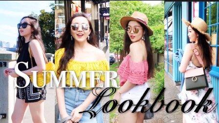 Travel Lookbook| 春夏五日旅行穿搭日记