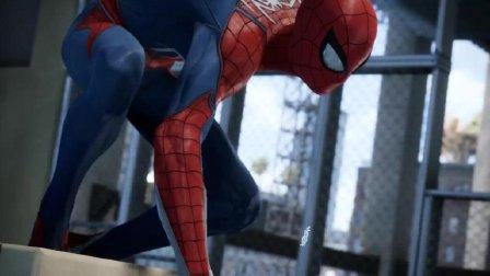 用PS4 玩蜘蛛侠是这样的