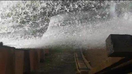 这么大的瀑布群, 开眼了, 超大瀑布群