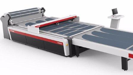 卷料自动化上下料系统-卓泰克激光SP系列大幅面激光切割机