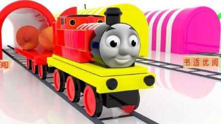 托马斯小火车水果派对儿童英语abc