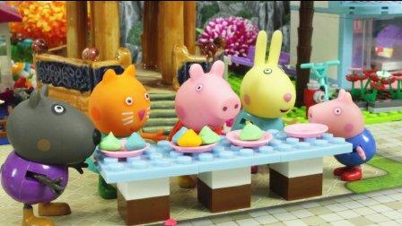 【大胃王比赛】小猪佩奇粉红猪小妹佩佩猪熊出没托马斯小火车狗狗巡逻队亲子故事