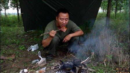 下雨天烹煮食物, 野外美味食物口水直流