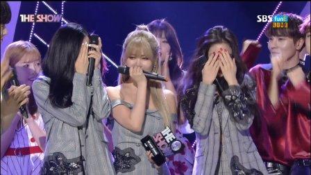 170620 T-ara The Show 1位受赏