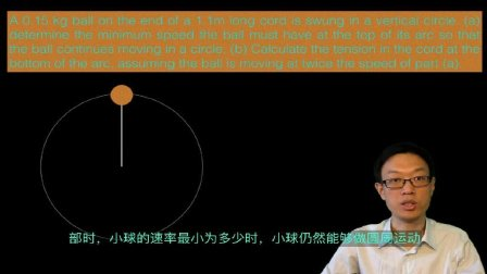AP 物理1 32 圆周运动例题 Circular motion examples AP Physics 1