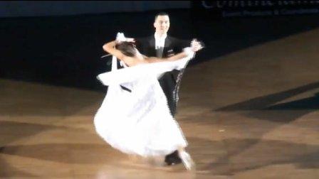 2017 维克多冯&安娜等演示华尔兹基本舞序-日本摩登舞规定舞步