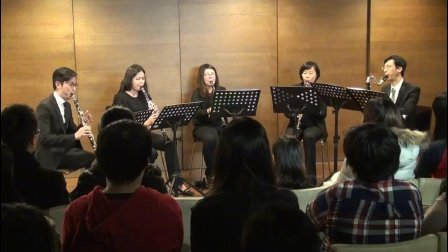 莫扎特 单簧管五重奏第一乐章(单簧管重奏)