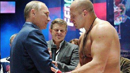 他是普京的偶像 60亿人中最强的男人