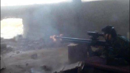 继续猛攻! 大马士革东部Jobar区政府军作战影