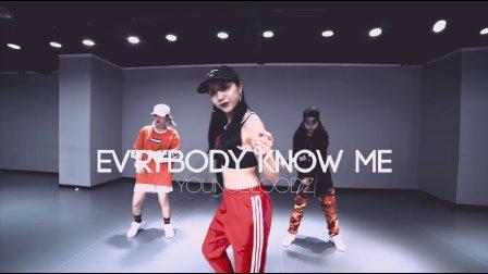 """TOPKING明星导师菲菲编舞""""Ev'rybody Know Me"""""""