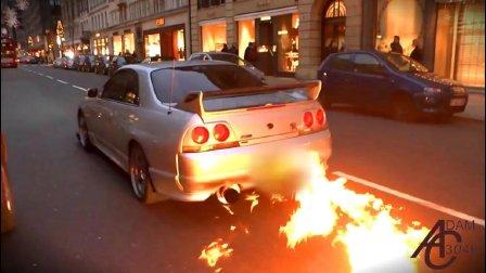 {虾米碗糕哦}- 噗, 排气烧火了-引擎的音樂
