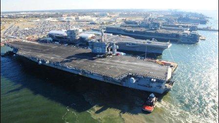 美军狠砸4000亿巨款, 欲造百艘战舰, 就算中国下饺子都比不了