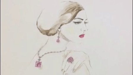 真大神! 油画布上的珠宝设计手绘你见过吗?