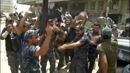 终于打完了! 伊拉克第二大城市摩苏尔宣布全面解放