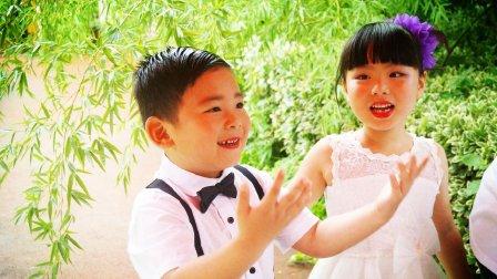 【6岁】6-25哈哈幼儿园毕业,作为扇子DIY区域主持人介绍MAH06957