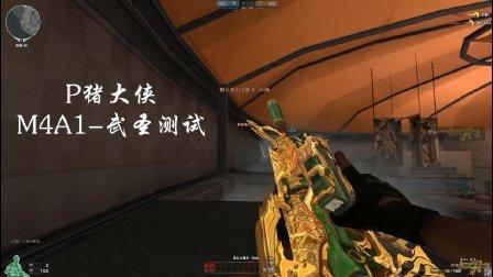 【P猪大侠】穿越火线解说: M4A1武圣套装 终结者模式测试