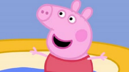 小猪佩奇去海边游泳