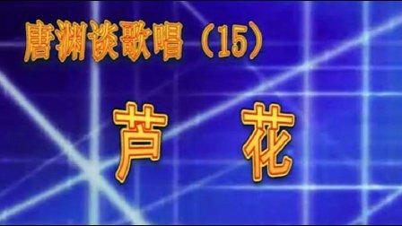 唐渊谈歌唱15芦花
