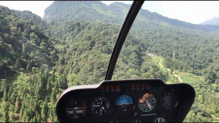 直升机空中游览雅安碧峰峡
