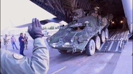 到俄罗斯家门口啦! 美国骑兵团装甲部队抵达格鲁吉亚