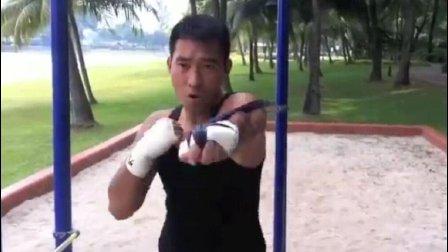 散打冲拳爆发力的训练方法