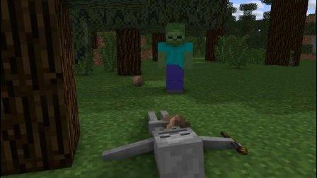 【我的世界动画】僵尸的一生: 不要得罪小白!