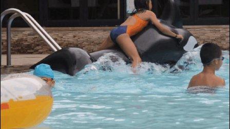 观澜湖网球夏令营丹索普与熊孩子的搞笑互动