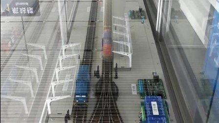 TR的自动运行沙盘【延时摄影】: 列车循环之天桥视角
