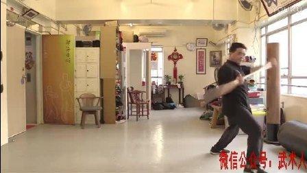 民间蔡李佛拳高手演练的蔡李佛八卦棍, 这棍术练的真不一般!
