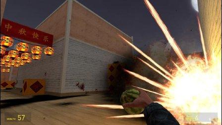 CF穿越火线 毁灭性的西瓜手雷 这个不要被天美发现了哦