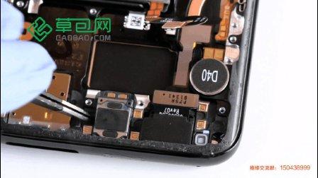 三星S8拆机更换听筒教学教程GALAXY S8-草包网