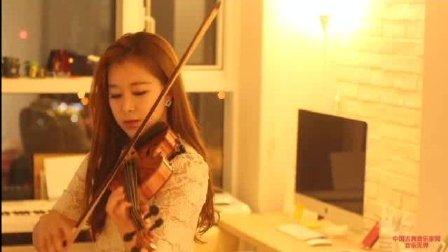 音乐无界: 韩国美女小提琴演奏 : 太阳的后裔主题曲(Descendants of the Sun OST)
