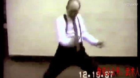 30年前拍摄的蔡李佛大师胡云绰先生珍贵的授拳视频