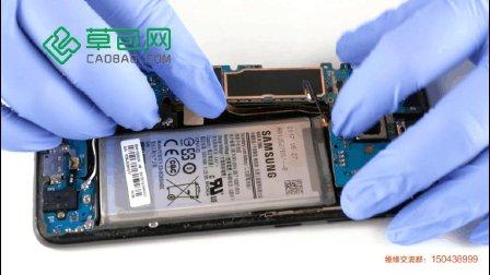 三星S8拆机更换振动器教学教程GALAXY S8-草包网