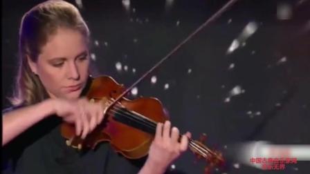 音乐无界: 小提琴家朱莉娅·费舍尔演奏帕格尼尼 17号随想曲