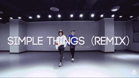 TOPKING小海与叶子全国巡回授课重庆站—小海叶子双人编舞《Simple Things (Remix)》