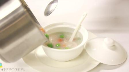 五彩鱼肉粥 给宝宝食用可增强宝宝的抵抗力