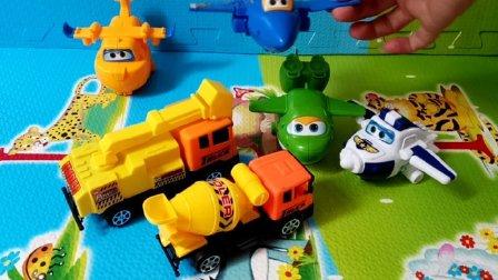 工程车超级飞侠玩具视频4