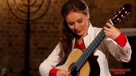 音乐无界: 古典吉他女神塔天娜伊兹科娃吉他演奏, 曲美人更美!