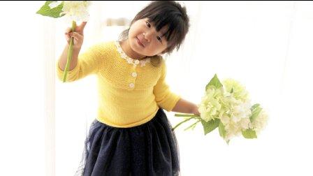 【七巧手工DIY】第58集 编织视频教程 简约宝宝棒针毛衣 下集